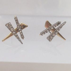 🆕Alexis Bittar Plaid Post Stud Earrings Shards